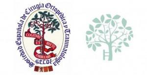 Evolución del logo de la Sociedad Española de Cirugía Ortopédica y Traumatología